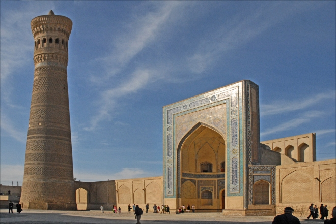 kalyan mosque and minaret, bukhara